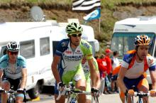 Vincenzo Nibali (Liquigas - Cannondale) cracked on the Joux Plane