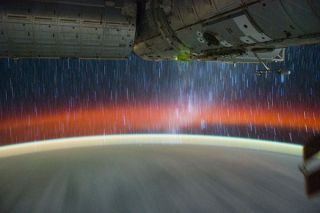 Star Trails Seen from the ISS #2
