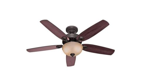 Hunter Builder Deluxe 53091 ceiling fan review