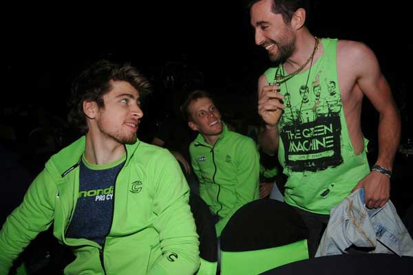Peter Sagan, Cannondale team launch 2014