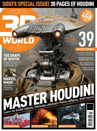 Get Procedural: Master Houdini with 3D World 231 | Creative Bloq