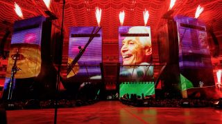 The Rolling Stones paid tribute to Charlie Watts at the start of their first No Filter US Tour date