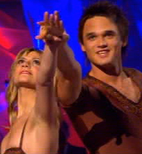 Gareth Gates kicked off Dancing On Ice this week with a routine to Green Day