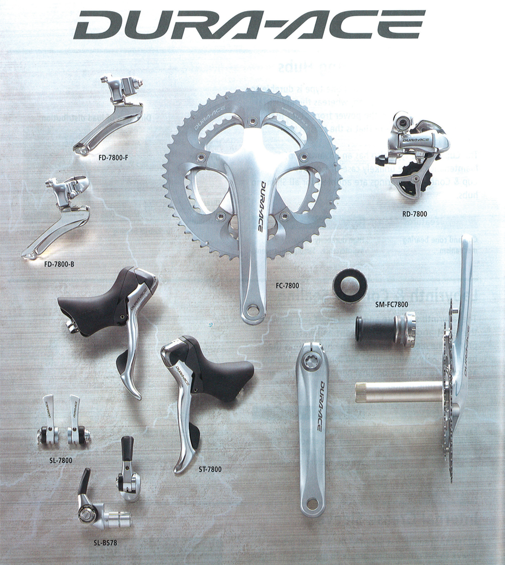 Shimano Dura-Ace 7800 Chainring Bolts Set of 10