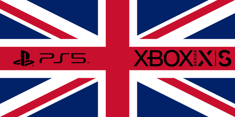 PS5 / Xbox Series X UK Flag