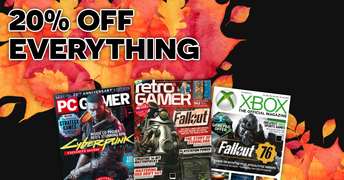 Extended until end of Tuesday: save 20 percent on all PC Gamer magazine subscriptions | PC Gamer