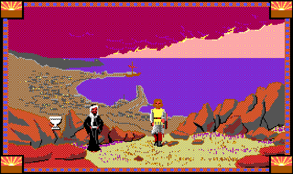 Conquests of Camelot proved Sierra adventure games could go beyond goofy parody