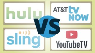 Hulu Live vs YouTube TV vs Sling vs AT&T TV Now