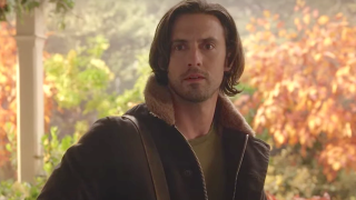 Jess looks at Rory on Gilmore Girls: A Year in the Life