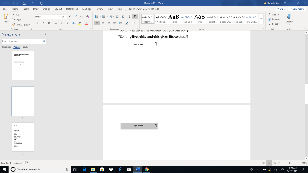 How to delete a page in Word | TechRadar