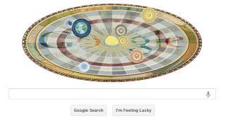 Copernicus Google Doodle