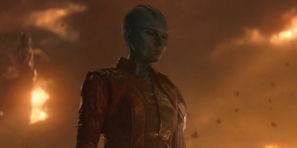 Nebula at the end of Infinity War