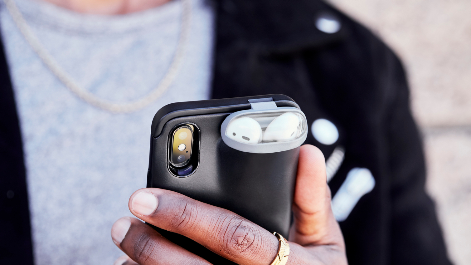 This Wacky Charging Case Juices Your Iphone And Airpods At Once Tom S Guide