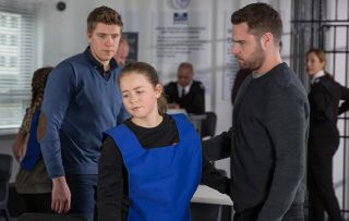 Emmerdale spoilers! Aaron Dingle is worried about his sister Liv Flaherty when he visits her in prison