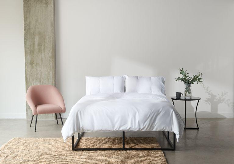 Simba mattress deal: Simba bed linen in bedroom