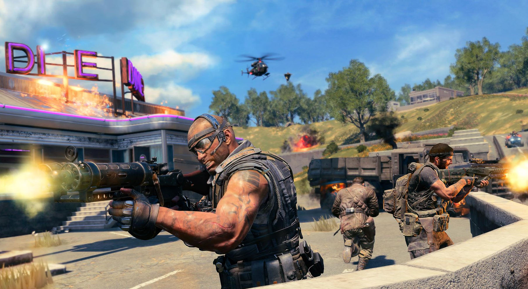 Black Ops 4's battle royale mode will be capped at 120 fps at launch