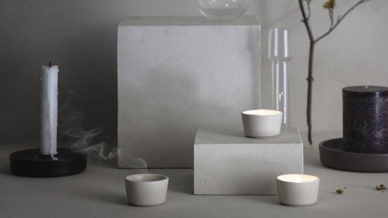 IKEA candle holders and tea lights