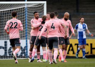 Bristol Rovers v Sheffield United – Emirates FA Cup – Third Round – Memorial Stadium