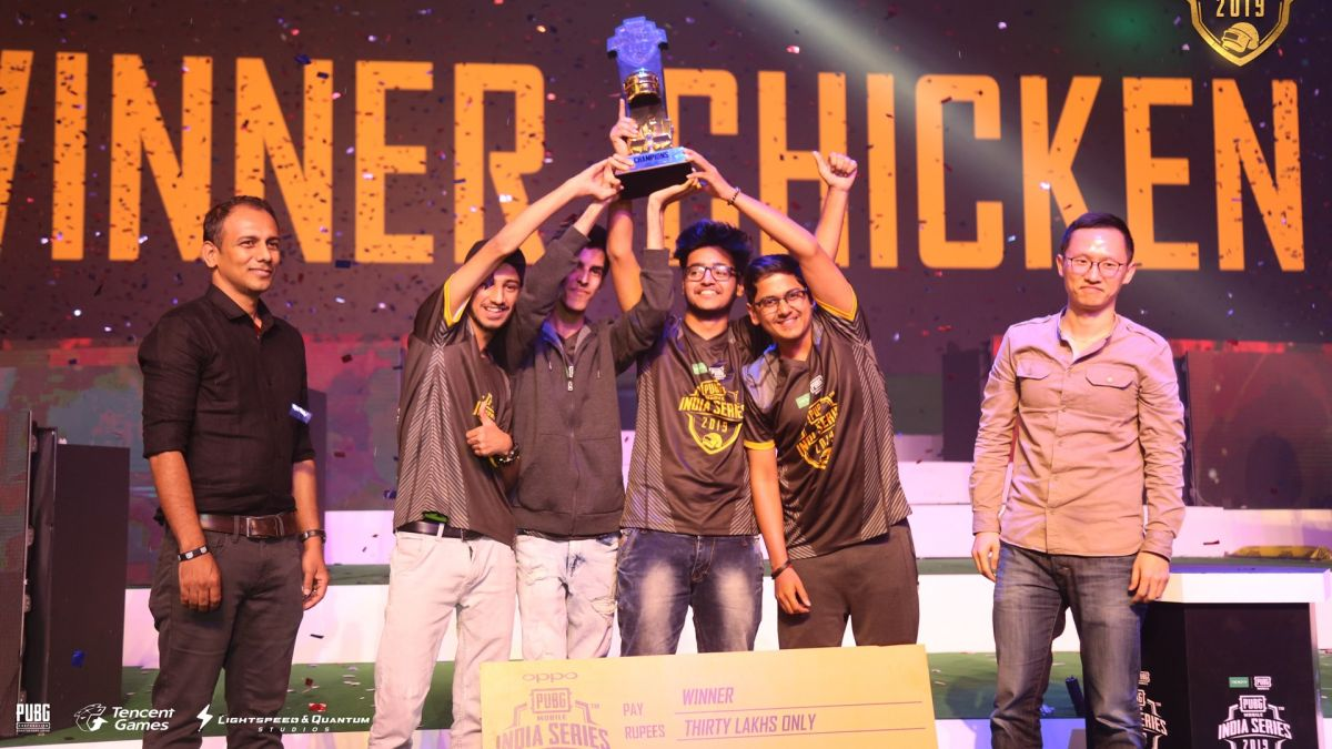 Team S0UL wins the PUBG Mobile India Series 2019