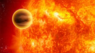 Hot Jupiter art