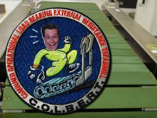 Collectible COLBERT Space Patch Sells Out