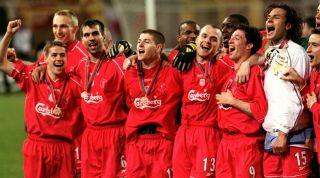 Liverpool 2001 treble