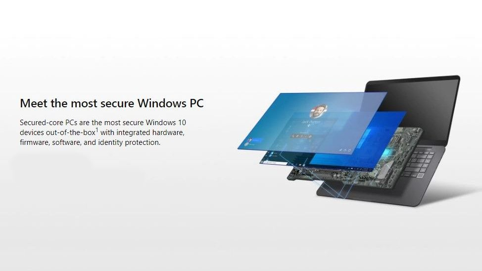 Microsoft's Secured-core PCs will defend against firmware level threats