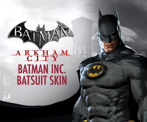 Batman: Arkham City Receives Batcave Map, Batman Inc. Skin #20066
