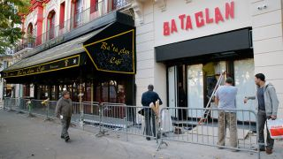 A picture of the Bataclan in Paris