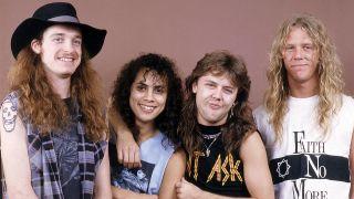 metallica in 1986