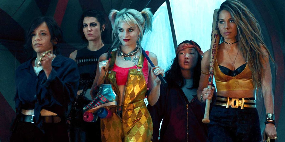 Birds of Prey Harley Quinn and friends march into battle