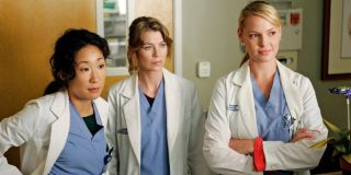 Some of the many characters of _Grey's Anatomy._