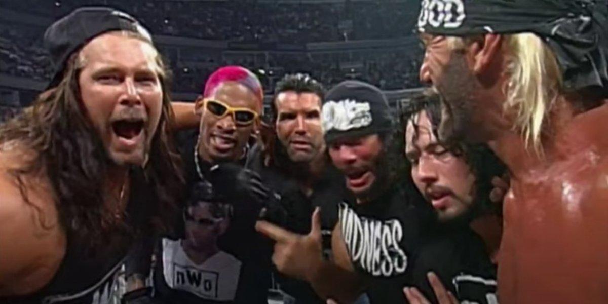 Dennis Rodman with NWO on Monday Nitro