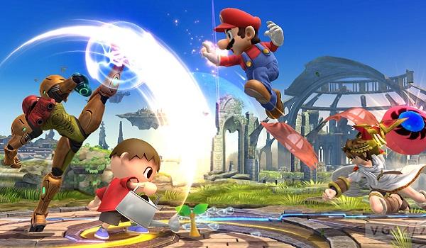 A Smash Bros. fight begins