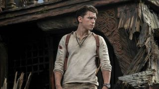 Tom Holland in the Uncharted movie