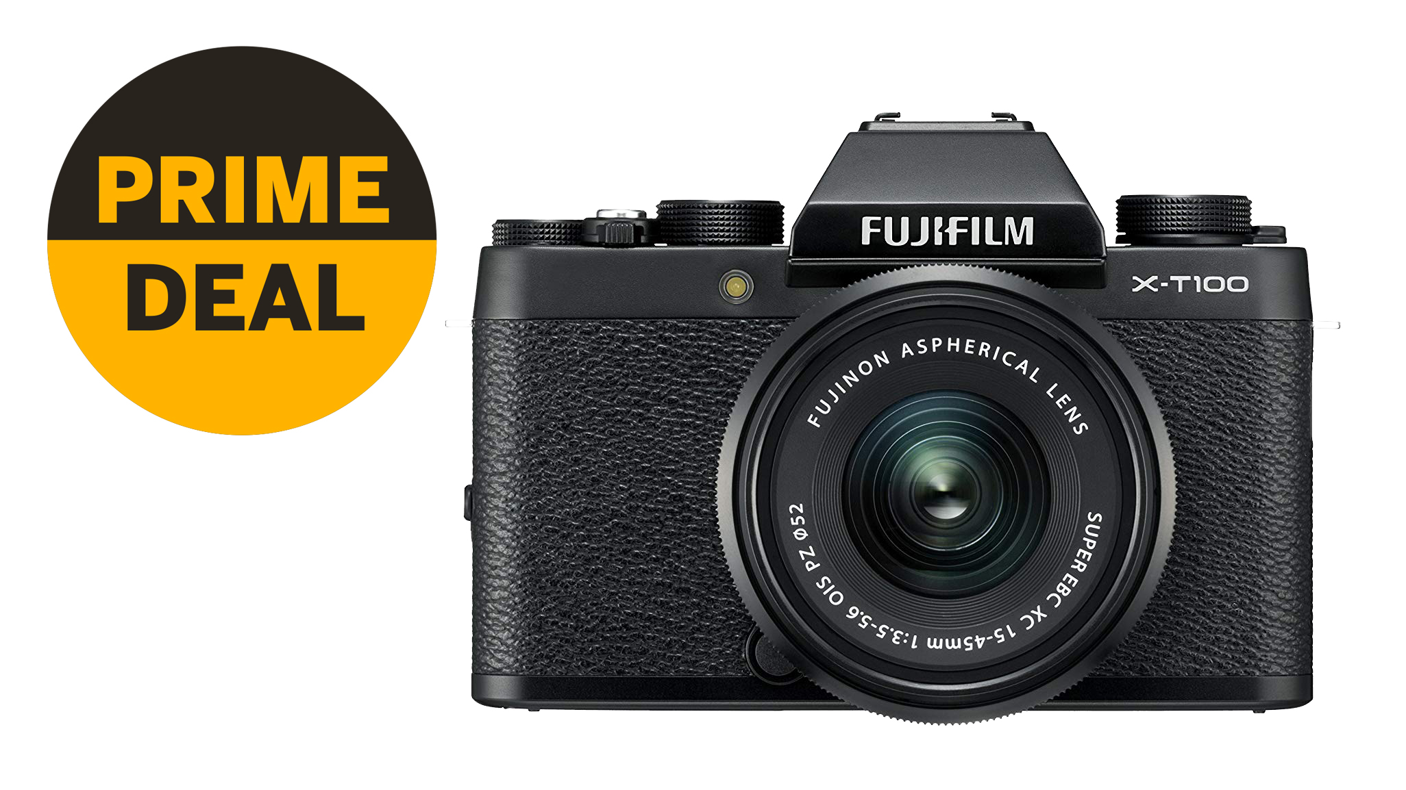 Amazon hacks £120 off the Fujifilm X-T100 + 15-45mm lens in this top Prime Day deal | Digital Camera World