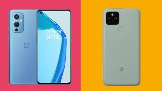 OnePlus 9 vs Google Pixel 5