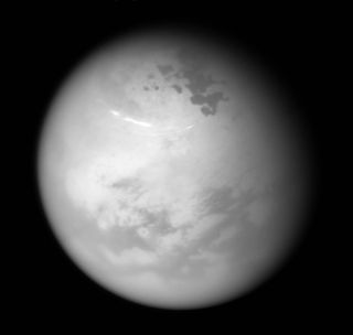 Summer View of Titan's North