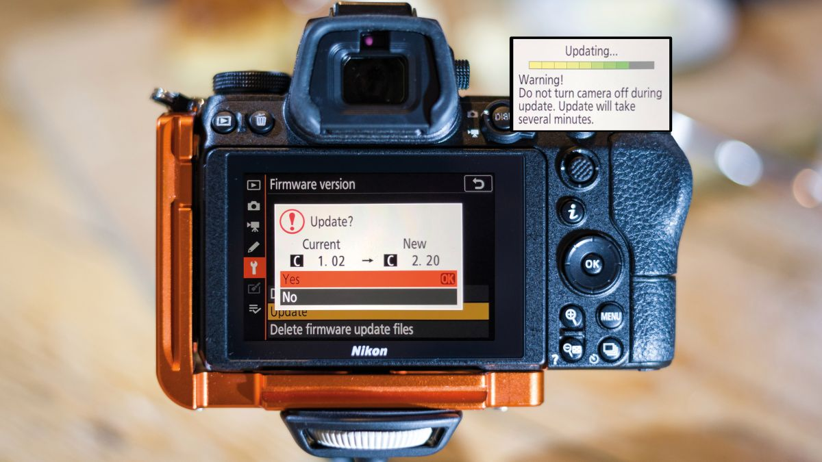 How to add the latest Nikon firmware update to the your camera