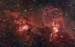 NGC 3603 and NGC 3576