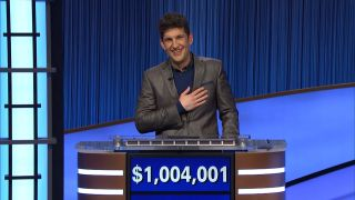 Matt Amodio, a Ph.D. candidate at Yale University, has surpassed $1 million with his 28th 'Jeopardy!' victory.