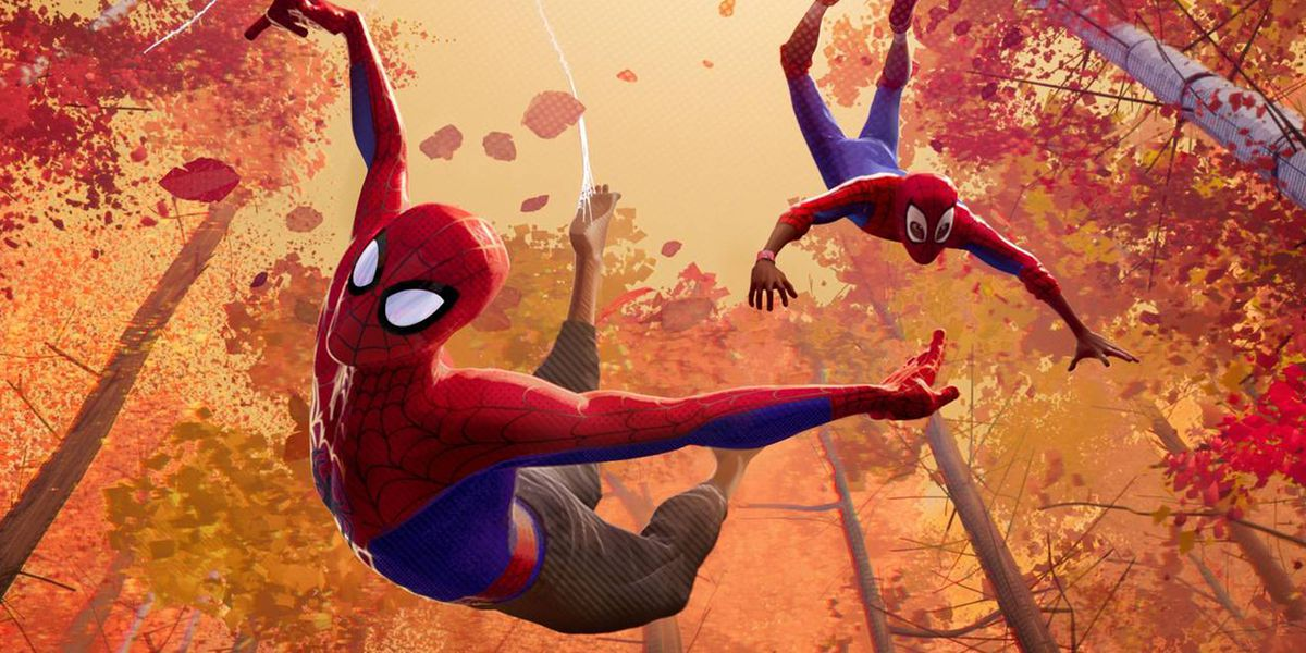 Two Spider-Man's in Into the Spider-Verse