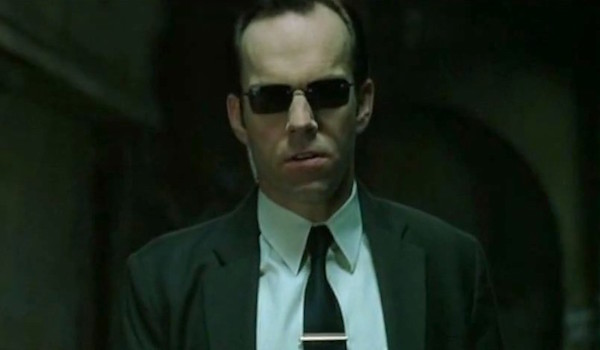 hugo weaving the matrix