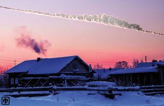 Chelyabinsk Meteor Recreation in 3D