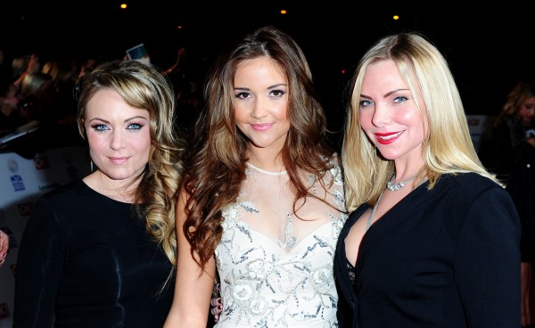 Rita Simons, Jacqueline Jossa and Samantha Womack