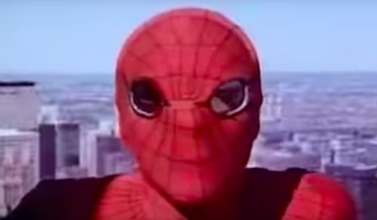 the amazing spider-man tv show mask