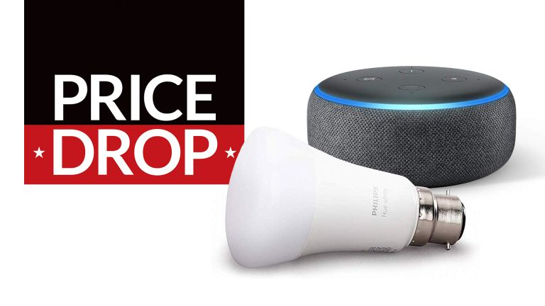 Amazon Echo Dot with Philips Hue deal
