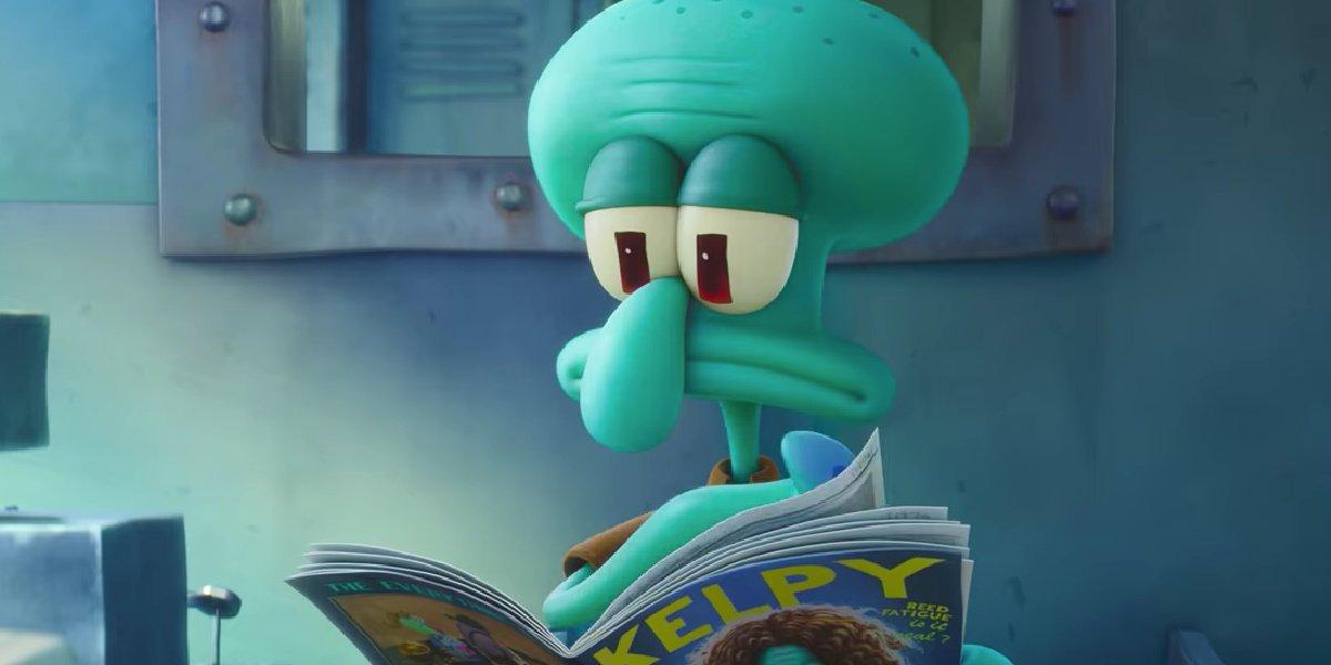 Squidward in The Spongebob Movie: Sponge on the Run