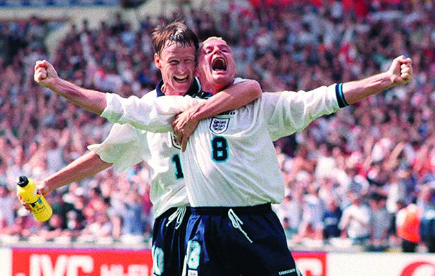 This feature-length documentary is built around an in-depth interview with Paul Gascoigne