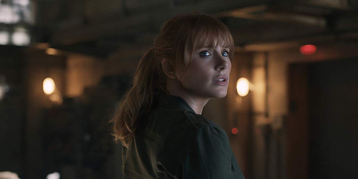 Bryce Dallas Howard as Claire Dearing in Jurassic World: Fallen Kingdom